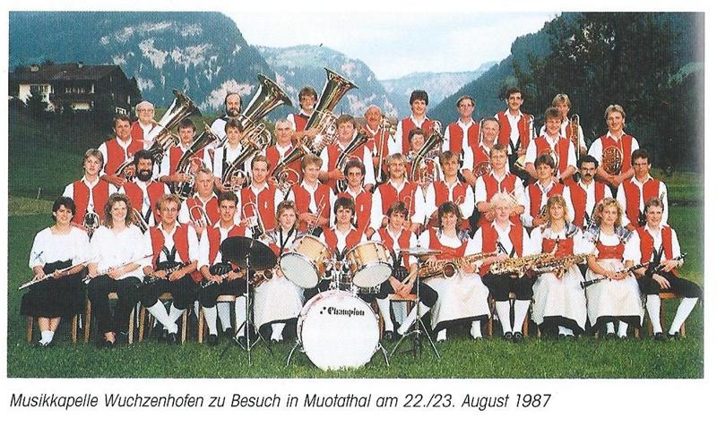Musikkapelle1987